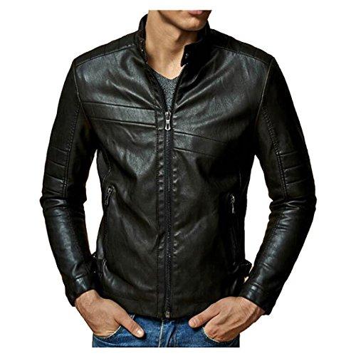 Escelar Veste en faux cuir pour homme EX (Large)