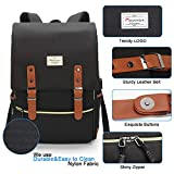 Modoker Vintage Laptop Backpack for Women