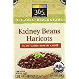 365 Everyday Value Organic Kidney Beans No Salt Added, 13.4 oz