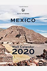 2020 Mexico Wall Calendar: With Large Cells Calendar Grid, featuring Mexico Cities, Landscapes, Pyramids, Mountains, Waterfalls and Wild Nature (Mexico Wall Calendars / Desktop Calendars Series) Paperback