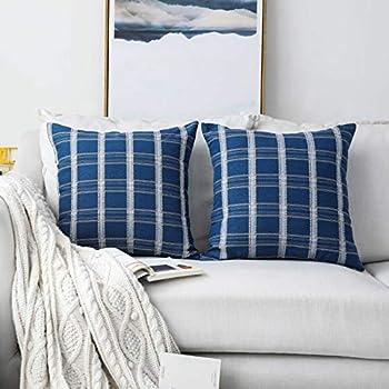 Amazon.com: Home Brilliant Juego de 2 fundas de almohada ...