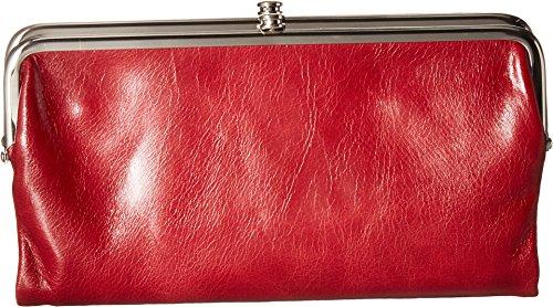 Hobo Womens Lauren Vintage Wallet Clutch Purse (Cardinal)
