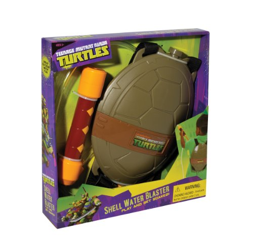 Little Kids Teenage Mutant Ninja Turtles Shell Water Blaster ()