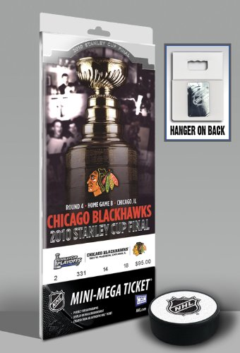 NHL Chicago Blackhawks Mini-Mega Ticket - 2010 Stanley Cup Champions