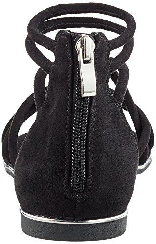 Black Blink femme Bl Schwarz Sandales Compensées Bjessal 542 UnT60pnHq