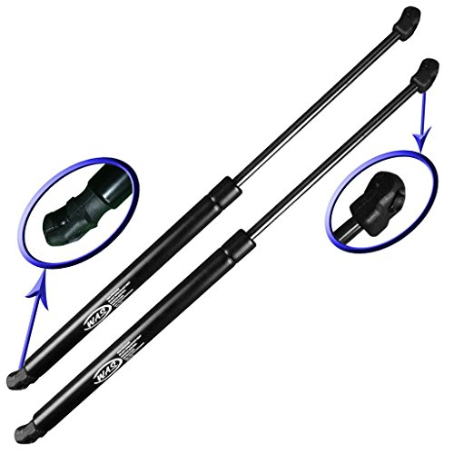 Two Rear Hatch Gas Charged Lift Supports for 2004-2009 Mazda 3 Hatchback Models. Left and Right Side. WGS-558-2