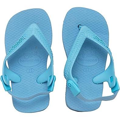 7daa7e523496 Kids Havaianas Baby Top Flip Flops Lavender Blue Childs Junior   Amazon.co.uk  Shoes   Bags