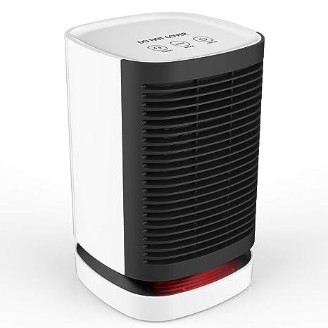 Amazon.com: Calentador de espacio de cerámica, calentador ...