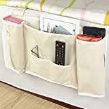PythonWorld Sofa Chair Armrest Organiser with Cup Holder TV Remote Control Organizer with Table-Top for Cellphone Magazine Drinks Snacks