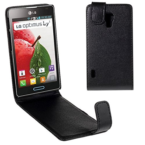 For cellphone Cases, For LG Optimus L7 II / P710 Vertical Flip Magnetic Snap Leather Case