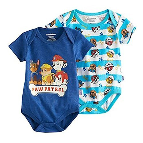 Paw Patrol Infant Boys' 2 Piece Short-Sleeve Bodysuit (3-6 Months)
