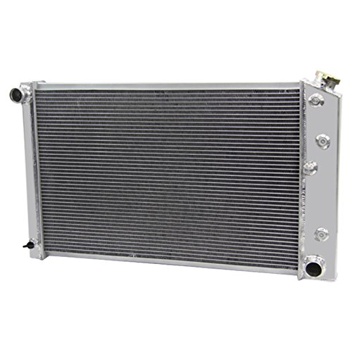 CoolingCare 62MM 4 Row Core Aluminum Radiator for 1970-87 Chevy/Buick/Oldsmobile Multiple GM Models