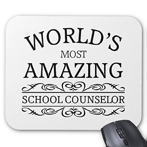 Zazzle World's Most Amazing School Counselor Mouse Pad