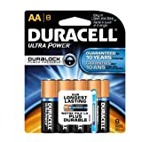 Duracell AA-ULx8 Ultra Power AA Batteries, 8 Count