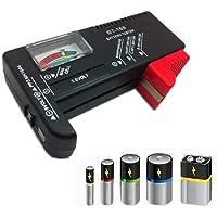 Testador de pilhas e baterias normais e recarregaveis