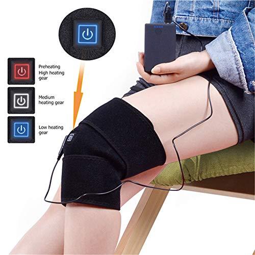 Calentador de Rodilla con calefacción Wrap Eléctrico USB Moxibustión Terapia de compresión con Calor Terapia de la...