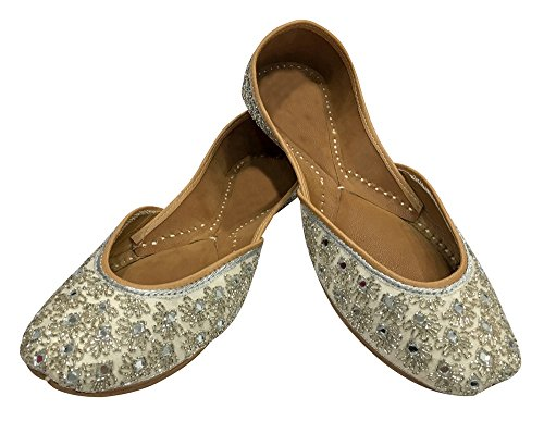 Step n Style 6 To 10 Indian Bohemian Shoes Bridal Khussa Mojari Jutti Ethnic Khussa rY2Y36P