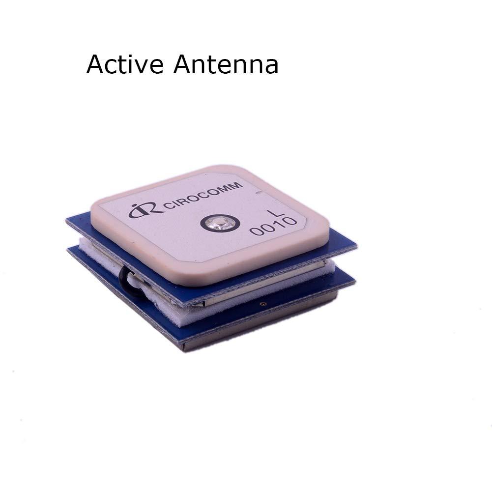 Beitian BN-880 Módulo GPS con Flash HMC5883 Compass Soporte GPS Glonass Beidou + GPS Antena activa para Arduino Aircraft Pixhawk APM Controlador de vuelo ...