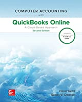 Computer Accounting with QuickBooks Online: A Cloud Based Approach, 2nd Edition Front Cover