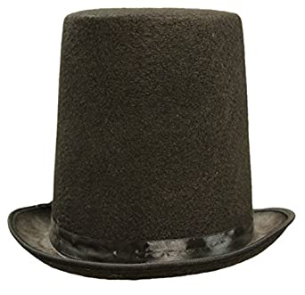 lincoln hat. amazoncom honest abe lincoln menu0027s 8 inch black felt stovepipe top hat clothing n