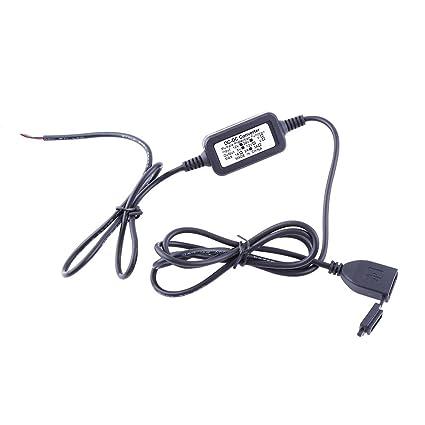 Adaptador de alimentación, keenso Cargador USB 12 - 24 V 2 A ...