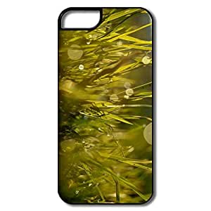 IPhone 5 5S Protector, Grass Summer White/black Cover For IPhone 5S
