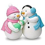 New Parents Christmas Ornament Dated 2016 Hallmark Keepsake Ornament