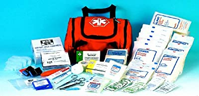 DixiGear First Responder FULLY Stocked Trauma First Aid Kit-Orange from DIXIE EMS