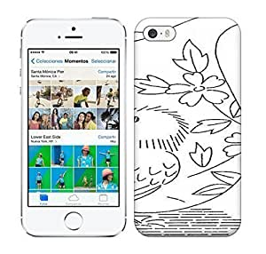 Best Power(Tm) HD Colorful Painted Watercolor Black And White Color Birds Hard For Iphone 6 Phone Case Cover