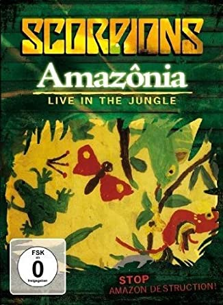 dvd scorpions amazonia live in the jungle gratis