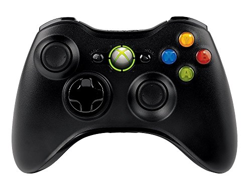 Microsoft Xbox 360 Wireless Controller Brand New Black (Shipped in Bulk Packaging) by Microsoft (Image #1)