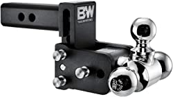 B&W Tow & Stow adjustable mount ball Tri-Ball 10,000 GTW