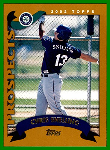 2002 Topps Traded #T225 Chris Snelling RC SEATTLE MARINERS ROOKIE