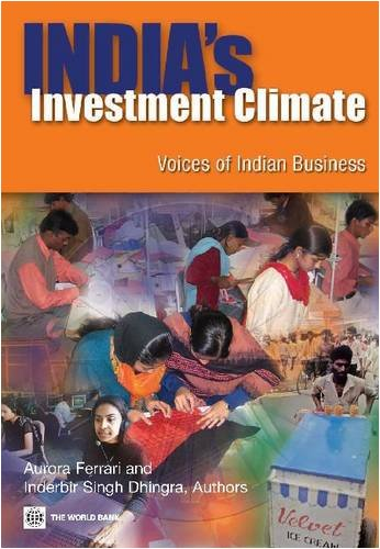 India's Investment Climate: Voices of Indian - Store Ferrari India