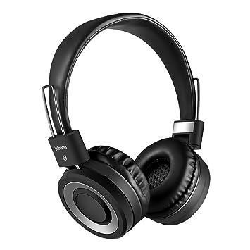 TBY Auricular Bluetooth Auriculares Inalámbricos 4,1 Smart Wireless Música Plegable Auriculares Micrófono Estéreo Bilateral