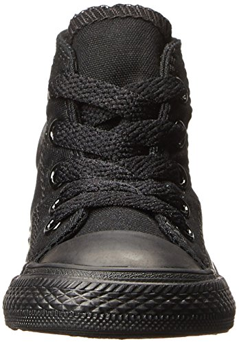Chuck Black Hi Trainers Unisex Star Converse All Taylor Children's Monochrome RqOw4a4Z