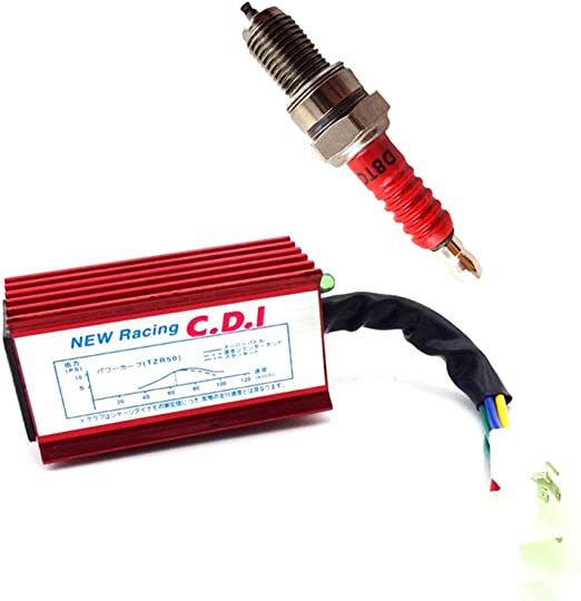 CDI Ignition Spark Plug For CG 125cc 150cc 200cc 250cc Pit Dirt Bike ATV Quad