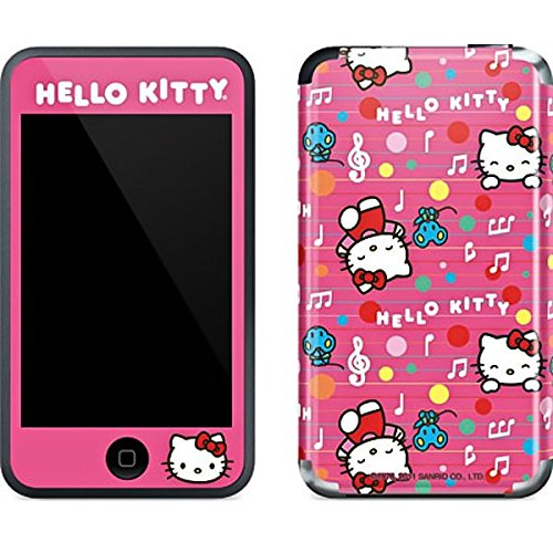 (Hello Kitty iPod Touch (1st Gen) Skin - Hello Kitty Music Pattern Vinyl Decal Skin For Your iPod Touch (1st Gen) )