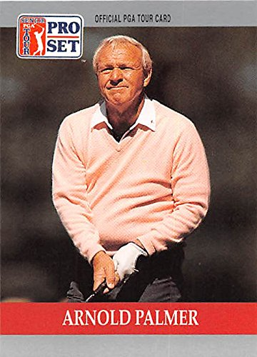 Card Set Pro Golf (Arnold Palmer trading card (Golf Golfer PGA Wake Forest) 1990 Pro Set #80)