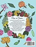 Flora and Fauna: A coloring book for adults