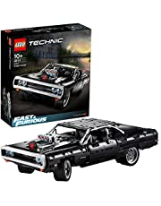 LEGO® Technic Dom's Dodge Charger (42111), auto uit 'The Fast and the Furious' met V8-motor, modelbouwset (1077 onderdelen)