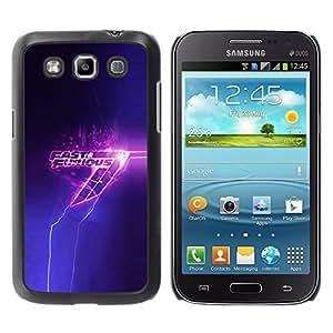 A-type Arte & diseño plástico duro Fundas Cover Cubre Hard Case Cover para Samsung Galaxy Win I8550 (Furios Fast)
