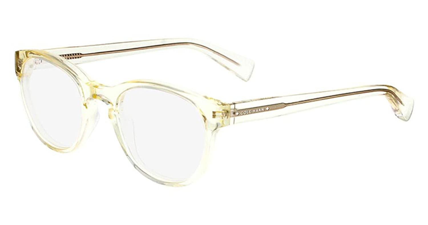 Eyeglasses Cole Haan CH4009 CH 4009 Crystal Yellow at Amazon Men\'s ...