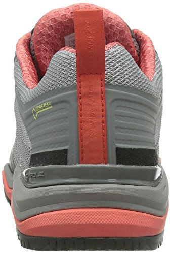 The North Face W Ultra Fastpack Ii GTX, Women's Hiking Shoes Gris (Foil Grey / Radiant Orange)