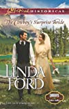 Front cover for the book The Cowboy's Surprise Bride by Linda Ford
