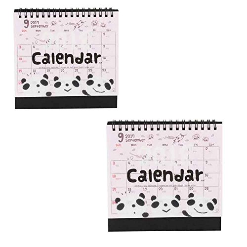 September 2017 - December 2018 Calendars Office Desktop Cale