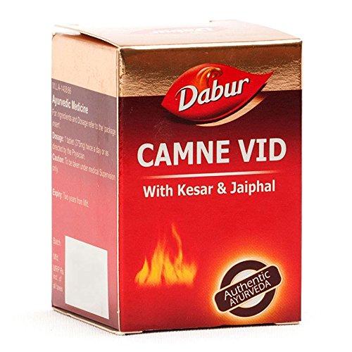 Dabur Camne Vid Vidrawan Ras with Kesar & Jaipahal 25 Tablets