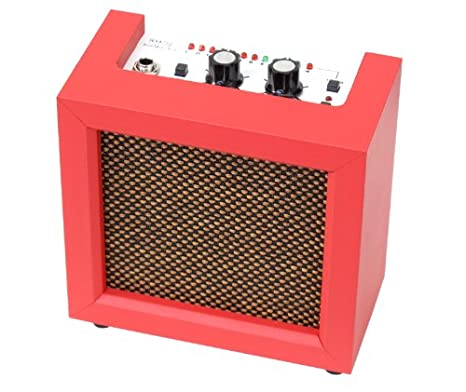Rocktile Mini Amp y afinador incorporado Rojo: Amazon.es ...