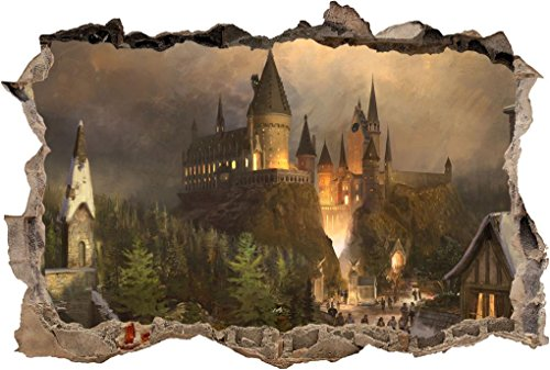 Hogwarts Harry Potter Smashed Wall Decal
