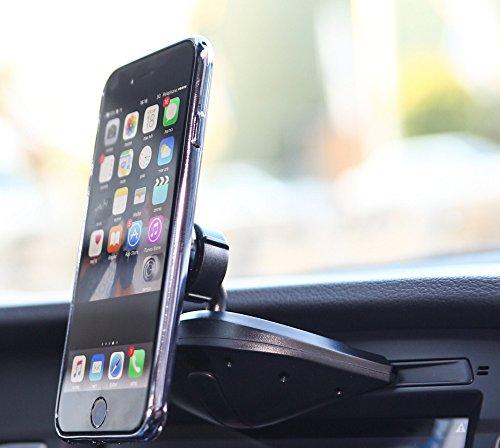 Bestrix Universal CD Slot Magnetic Smartphone Car Mount Holder for iPhone 7, 6, 6S Plus 5S, 5C, 5, 4S, 4, Samsung Galaxy S3 S4 S5 S6 S7 S8 Edge/Plus Note 2 3 4 5 LG G3 G4 G5 G6 all smartphones
